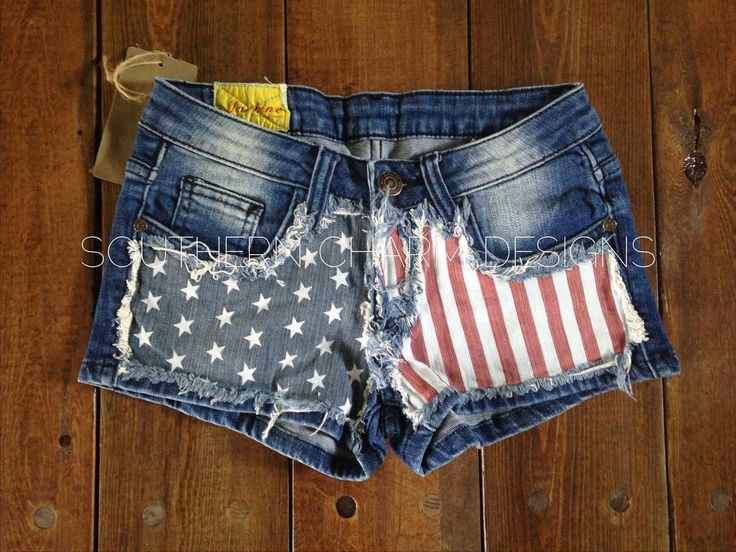 Home Of The Brave Shorts Southern Charm Designs