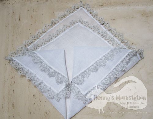 Hanky with lace edge, finally finished!레이스 손수건,마침내 완성!!My light grey sajou thread had gone, so i need to order one for complete the thread box.Now I am sure that my temper doesn't allow me on repetitive work……밝은 회색 사쥬실 한 타래를 다 써버린 무시무시한ㅋㅋㅋㅋㅋㅋㅋ사쥬박스의 빈 곳을 채우려면 새로 주문해야 할지도;;정말 반복작업은 싫다….ㅠ.ㅠ