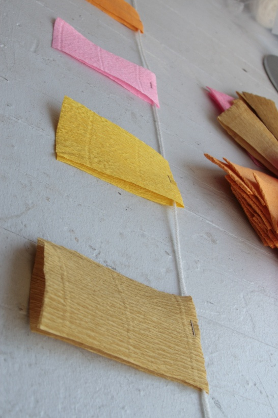 Crepe Paper Streamers Bunting