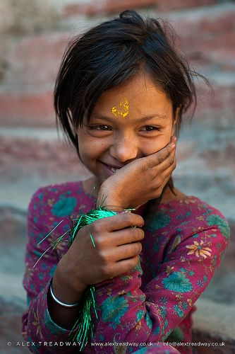 Little girl from Juphal valley Nepal