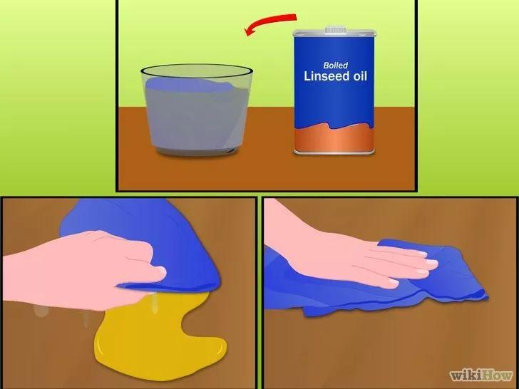 rimuovere vernice ad olio secca