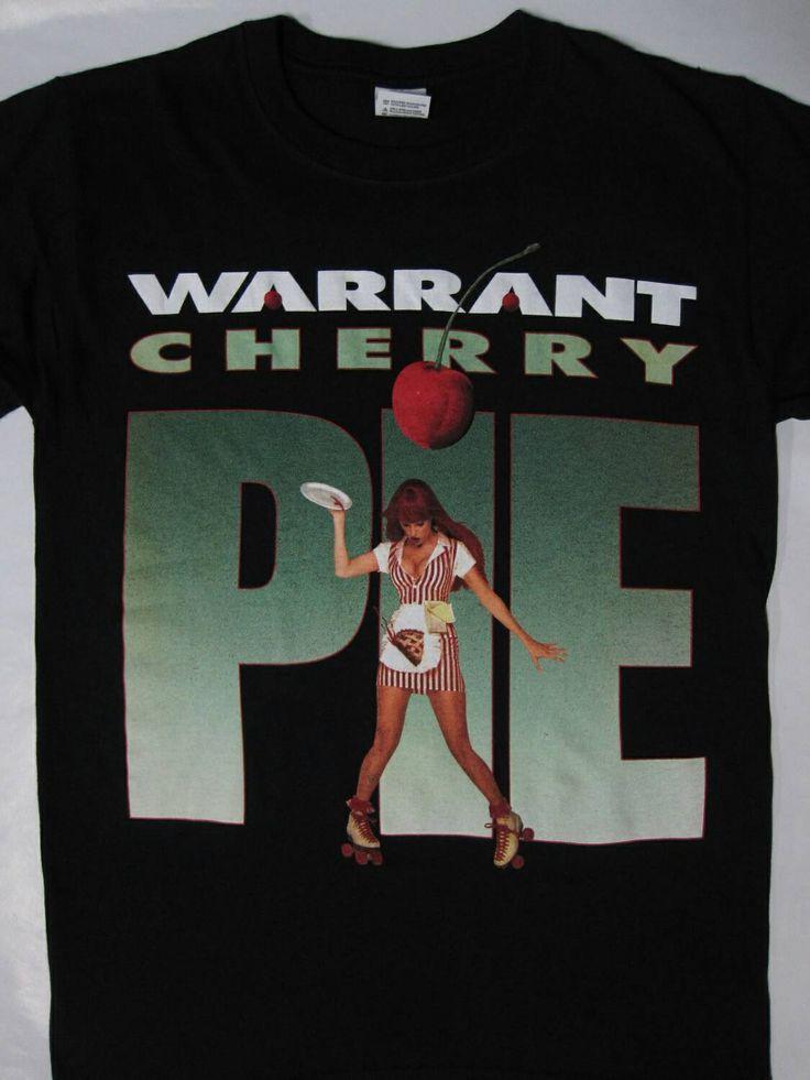 WARRANT - Cherry pie t-shirt ( s-xxl ) top- hard rock /glam metal merch!!Pop Metal by HEAVYROXX on Etsy https://www.etsy.com/listing/212030622/warrant-cherry-pie-t-shirt-s-xxl-top