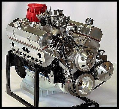 CHEVY TURN KEY SBC 383 SUPER STROKER STAGE 2.2 DART BLOCK, CRATE MOTOR 530 hp