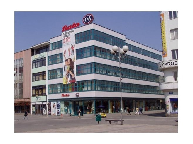 Bata store in Ostrava, Czech Republic