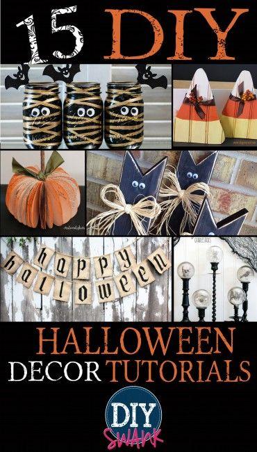 15 DIY Halloween Decor Tutorials