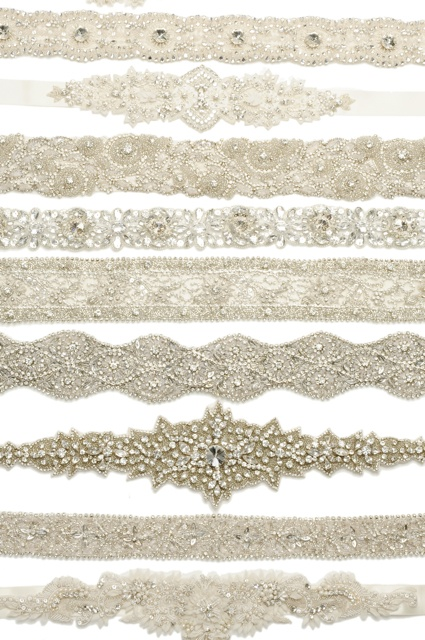 Bridal Sashes Galore  - www.UntamedPetals.com