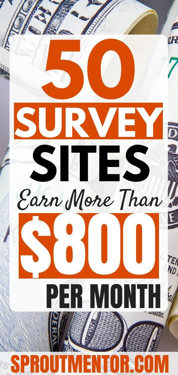 50 Of The Best Paid Survey Sites To Make Money in 2019 – Online money making