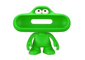 Beats By Dre pill character(Green)  Product Highlights:									Stand for Your pill Speaker													Access to Audio & Charging Ports													Moveable Arms & Head											Overview:  Check Out Green Beats By Dre. Free UK Delivery on Eligible Orders. More Info: http://www.loveheadphone.co.uk/green-beats-by-dre.html