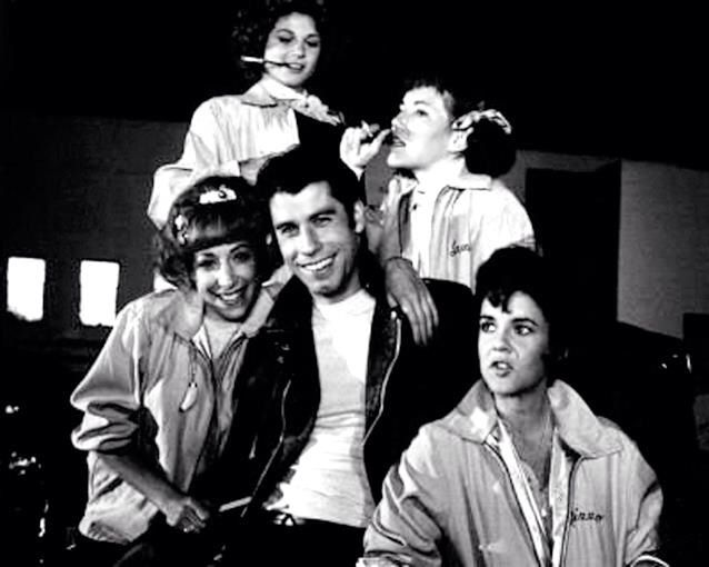 A very rare Grease photo.