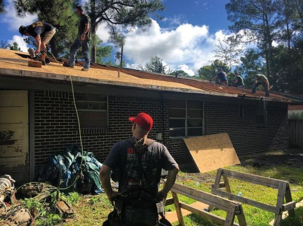 A Vietnam veteran in Moss Point is getting much needed repairs on his house, and…