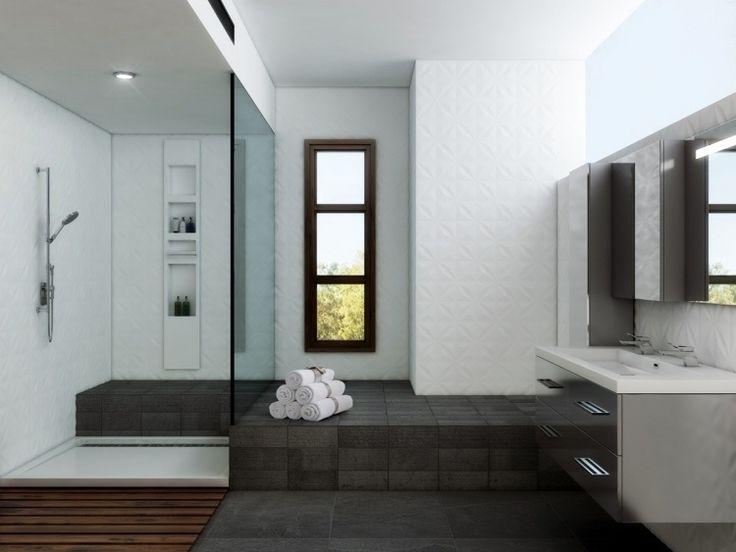 Douche à Lu0027italienne Encastrable  50 Salles De Bains Modernes!