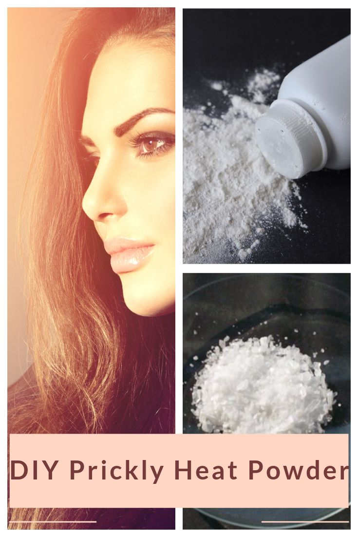 Do you know you can prevent Heat Rash or soothe and heal with Prickly Heat Powder? Here's a natural DIY Prickly Heat Powder Recipe you can try - http://beautynaturalsecrets.com/diy-prickly-heat-powder/