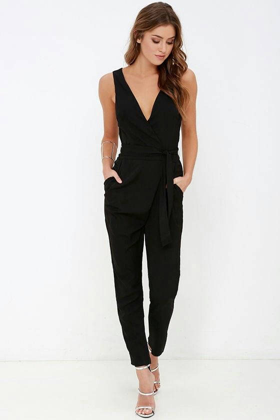 High Waist Jumpsuit.