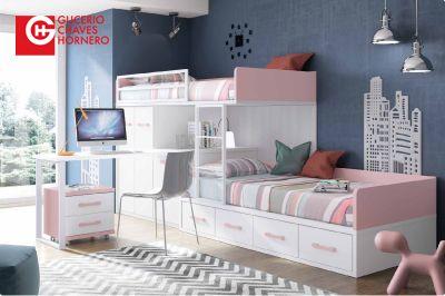 "Literas Glicerio Chaves para Dormitorios Juvenilles.  Catálogo ""Formas 15"""