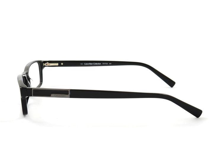 Calvin Klein Collection CK7723 001 53 Schwarz (Brillen) Brillen online kaufen