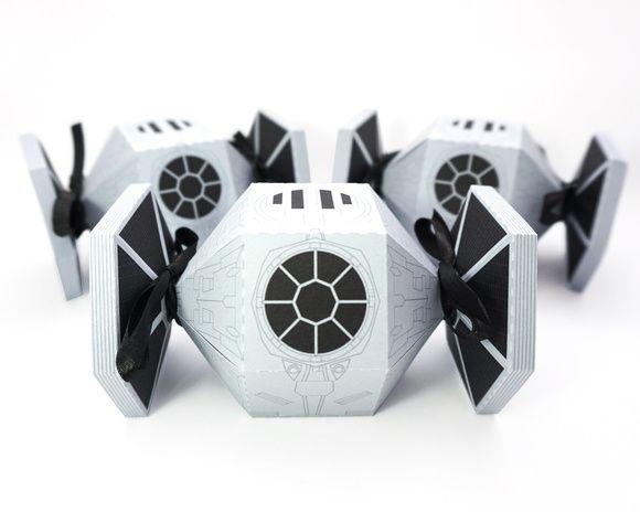 TIE Fighter - Star Wars - Lembrancinha - Festa  - Baleiro