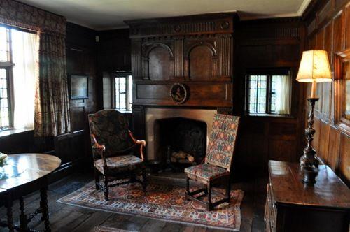 Packwood house sitting room