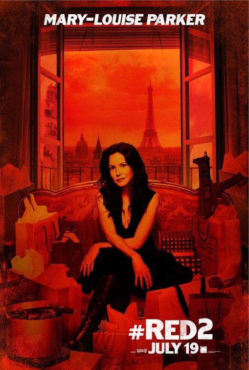 Red 2, Mary-Louise Parker as Sarah Ross
