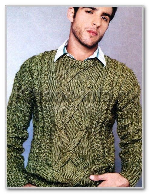 Пуловер с рельефными узорами. Обсуждение на LiveInternet - Российский Сервис Онлайн-Дневников