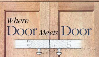 How to Install Cabinet Doors - Cabinet Door Construction and Techniques | WoodArchivist.com