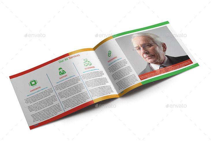 Technology Company Brochure #Ad #Technology, #Sponsored, #Company, #Brochure