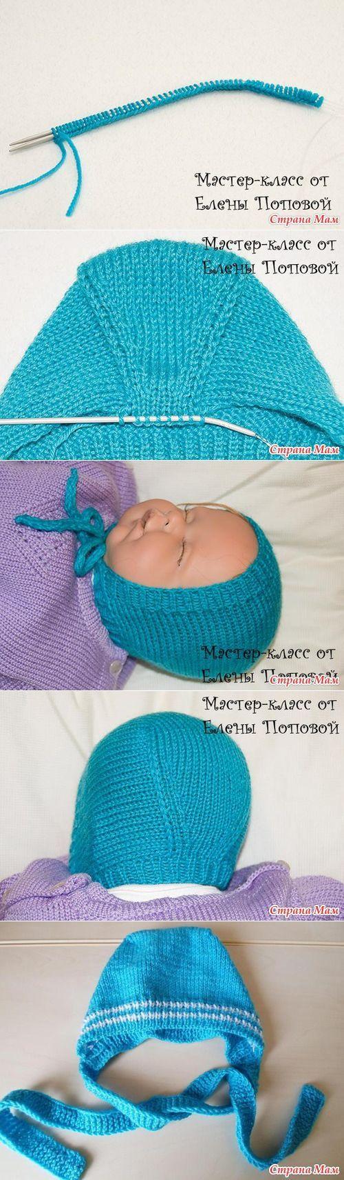 Caps for newborns. - Knitting for children - Country Mom