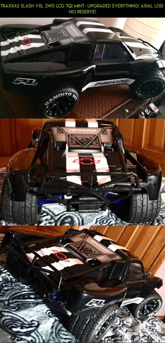 Traxxas Slash VXL 2WD LCG TQi Mint- Upgraded Everything! Axial Losi  NO RESERVE! #racing #fpv #slash #2wd #shopping #gadgets #plans #camera #upgrades #technology #tech #products #drone #kit #parts #traxxas