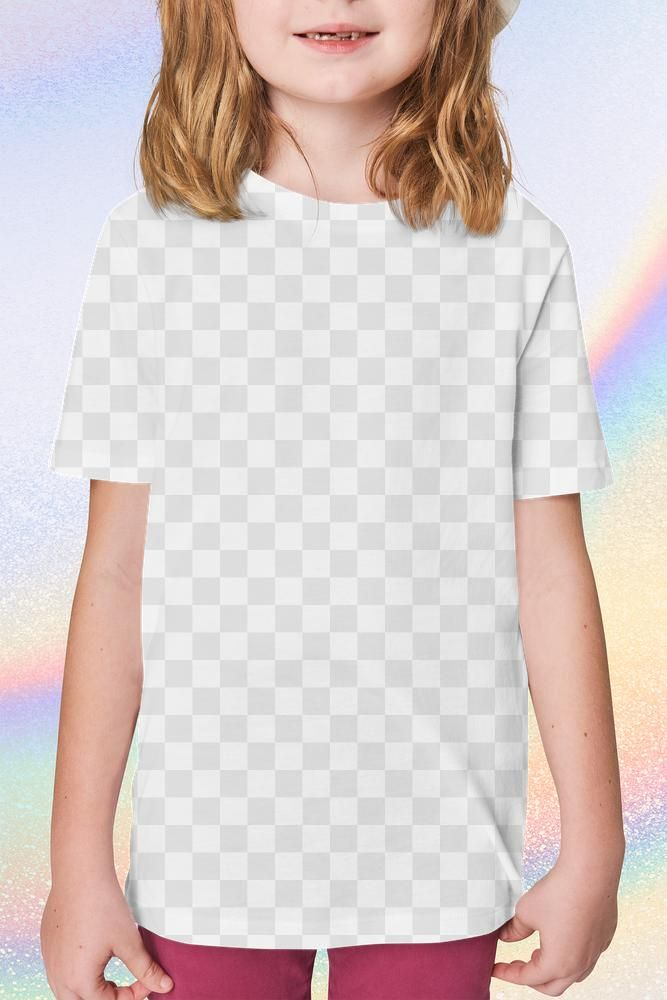 Download Girl In T Shirt Png Mockup Studio Shoot Free Image By Rawpixel Com Kanate Clothing Mockup T Shirt Png Kids Outfits