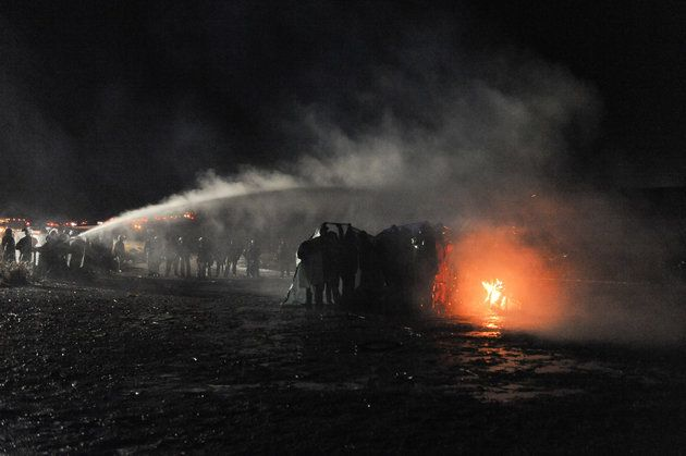 """On Thanksgiving Week, Native Americans Are Being Tear-Gassed in North Dakota """"Basically, it's an act of war,"""" a Sioux leader says.November 23 2016 #NoDAPL"""