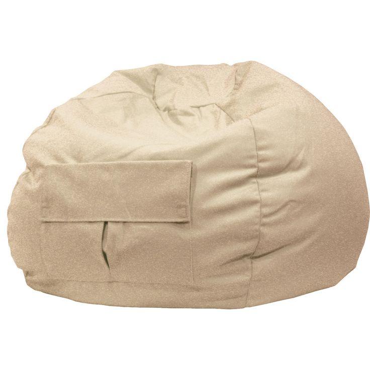 Gold Medal Cargo Pocket Khaki Denim (Blue) Look Extra Large Bean Bag (Extra Large Denim Look Bean Bag/Cargo Pocket)