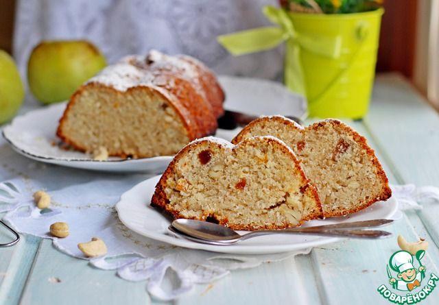 Кекс на яблочном пюре - кулинарный рецепт