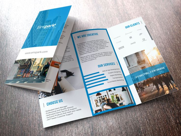 Trifold Brochure Design by Naavyd