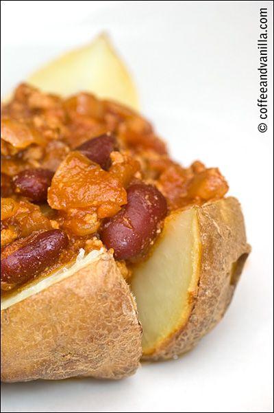 Chilli con Carne Jacket Potatoes for Bonfire Night » Coffee and Vanilla