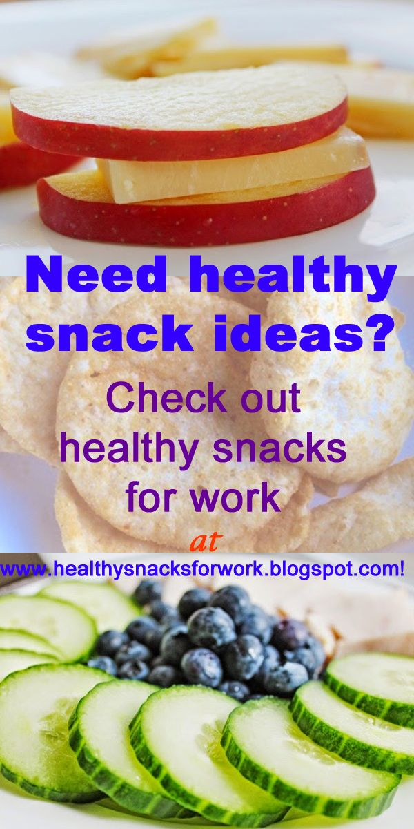 CLICK PIN for healthy snack ideas for work! #healthyeating #healthysnacks