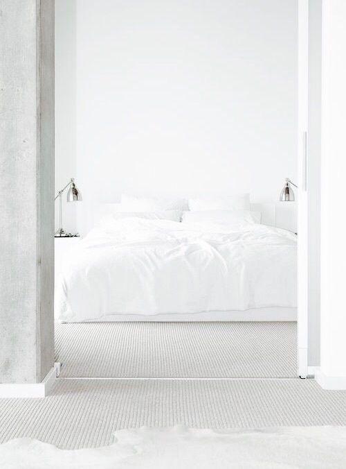 Imagen de white, bedroom, and interior