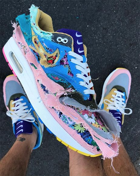3b1f3a72f44 Sean Wotherspoon Unveils Insane Tearaway Nike Air Max 1