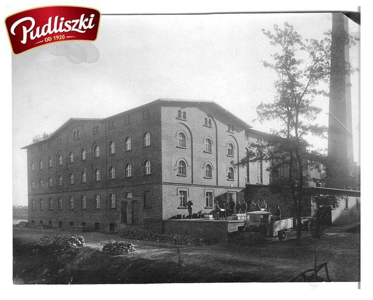 1923r. - Ukończenie budowy fabryki. #pudliszki #historia