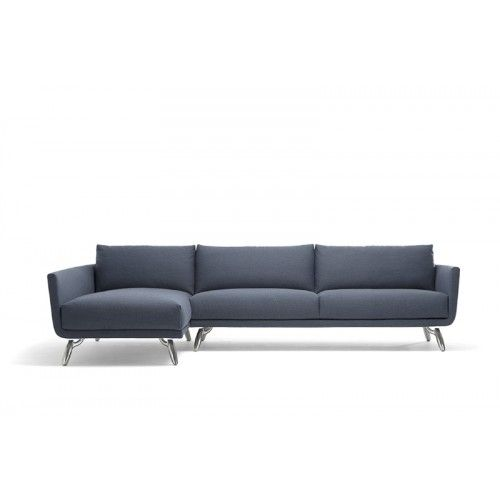 Byen bank hoekopstelling chaise longue design on for Chaise longue bank