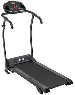 Akonza 1.7HP Folding Electric Treadmill Portable Motorized Running Fitness Machine Black