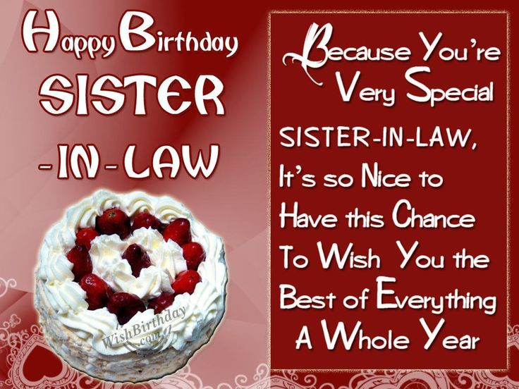78 best Birthday images – Funny Birthday Greetings for Sister in Law
