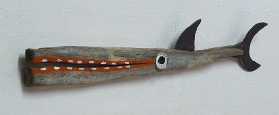 RESERVED for Susie Phillips ... Avant COD 5 .... Whimsical driftwood small fry