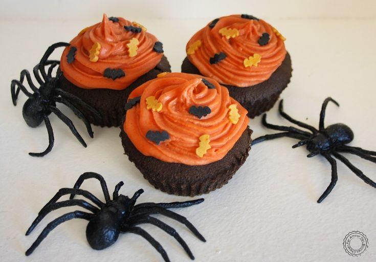 Cupcakes 2 chocolats { Halloween }