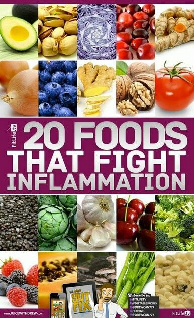 Foods That Fight And Heal Inflammation And Pain Naturally