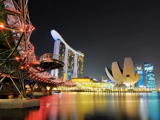 Double Helix Bridge, Singapore