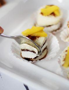 Ein letzter Sommergruß für dieses graue Wetter: Mango-Törtchen mit Milch-Schnitte® - TRYTRYTRY
