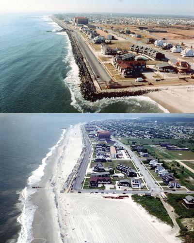Rebuilding A Beach Cape May Replenishment