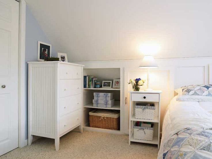Home Projects: Under-Eave Storage Space
