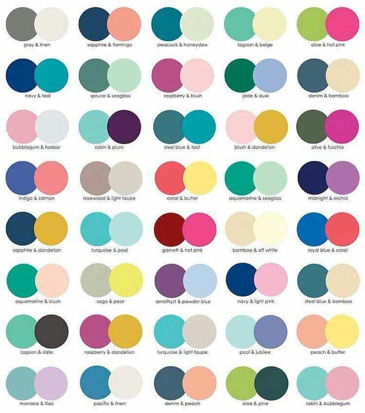 7 best design basics images on pinterest suggested color combinations erin condren 2017 fandeluxe Gallery
