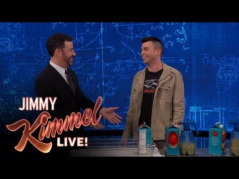Jimmy Kimmel Live: April Fools' Day Pranks with Mark Rober