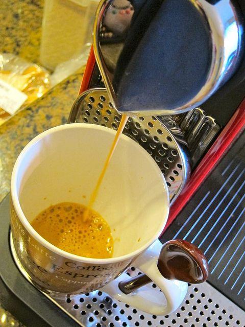 nespresso how to make cappuccino